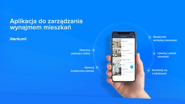 Aplikacja do zarządzania wynajmem mieszkań - Rentumi