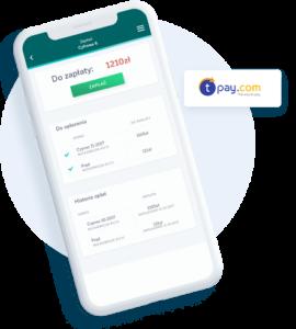 Aplikacja do zarządzania wynajmem mieszkań - rozliczanie płatności