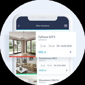Aplikacja do zarządzania wynajmem mieszkań - zarządzanie do 50 mieszkaniami